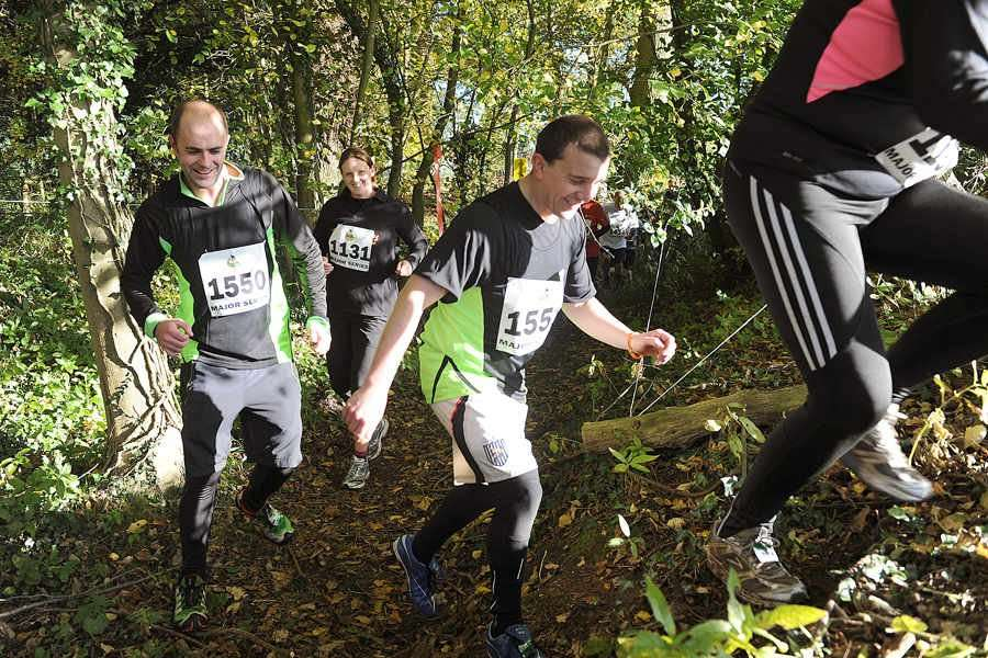Racers tackle major series Midlands assault course