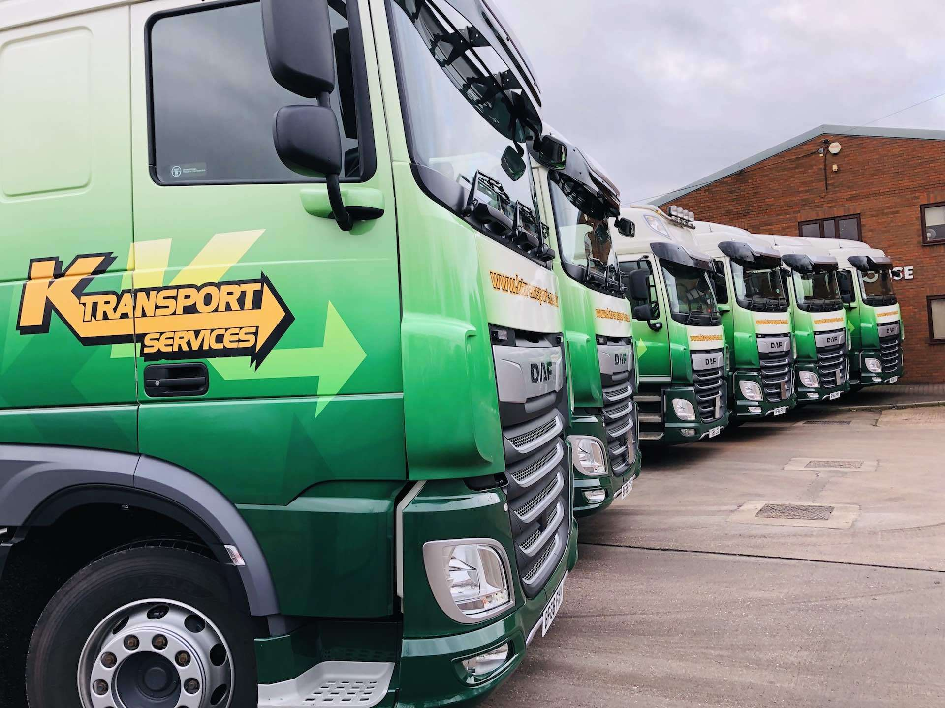 K Transport Services Haulage Lorries