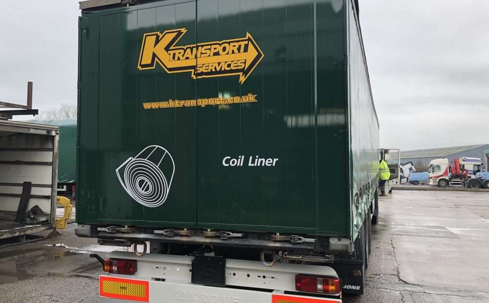 K Transport Services Trailer Refurbishment