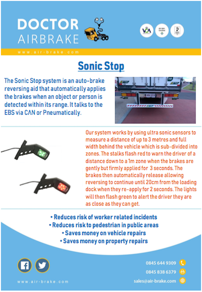 Sonic Stop Doctor Air Brake